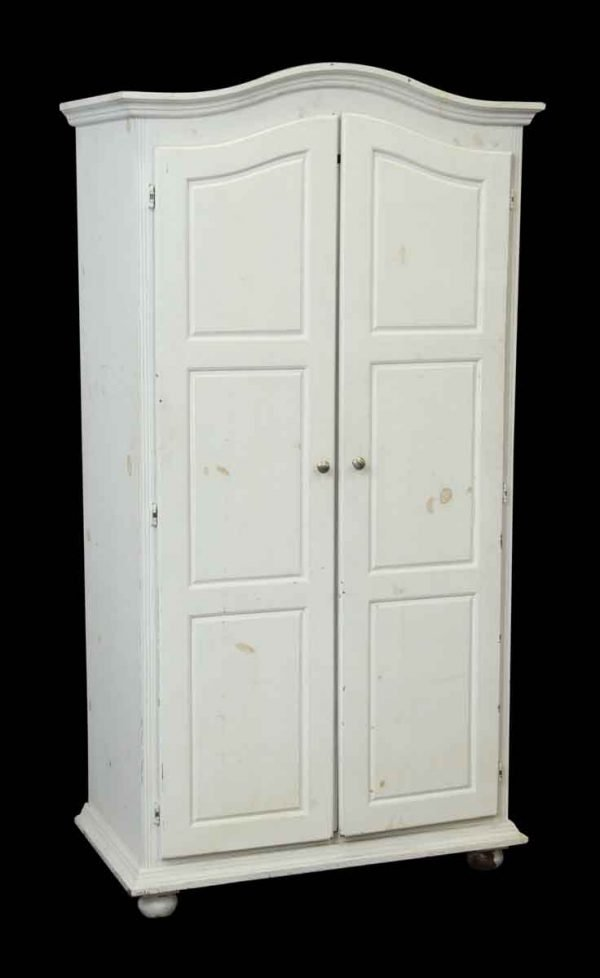 White Wooden Wardrobe