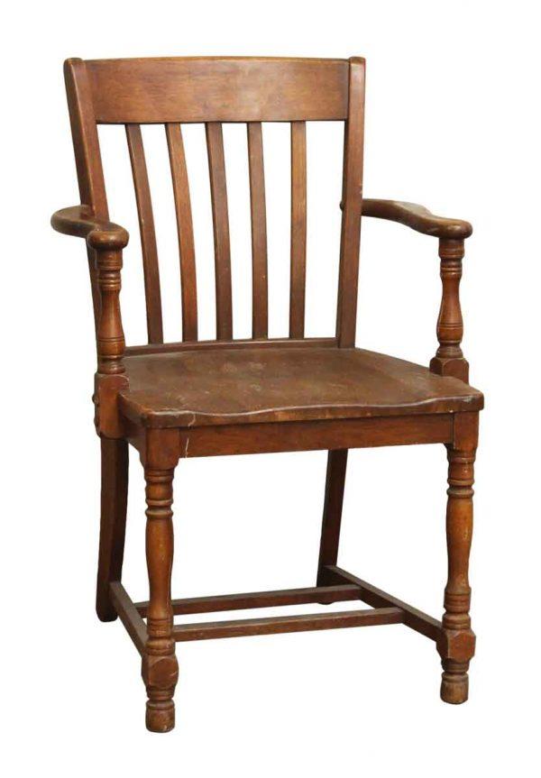 Wooden Banker Chair