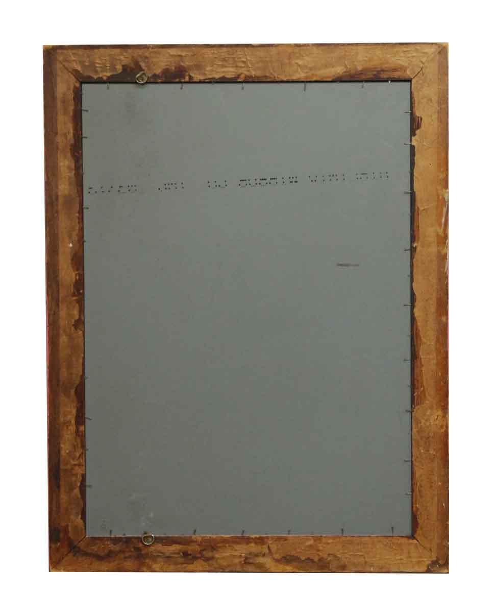 Pink Wood Frame Mirror | Olde Good Things