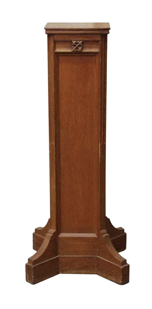 Gothic Oak Podium