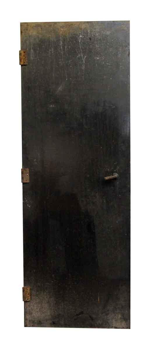 Thin Metal Black Door