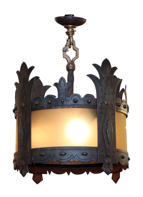 Tudor Iron Pendant Light Fixture