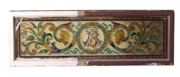 Painted Glass Window from John Eichler Mansion