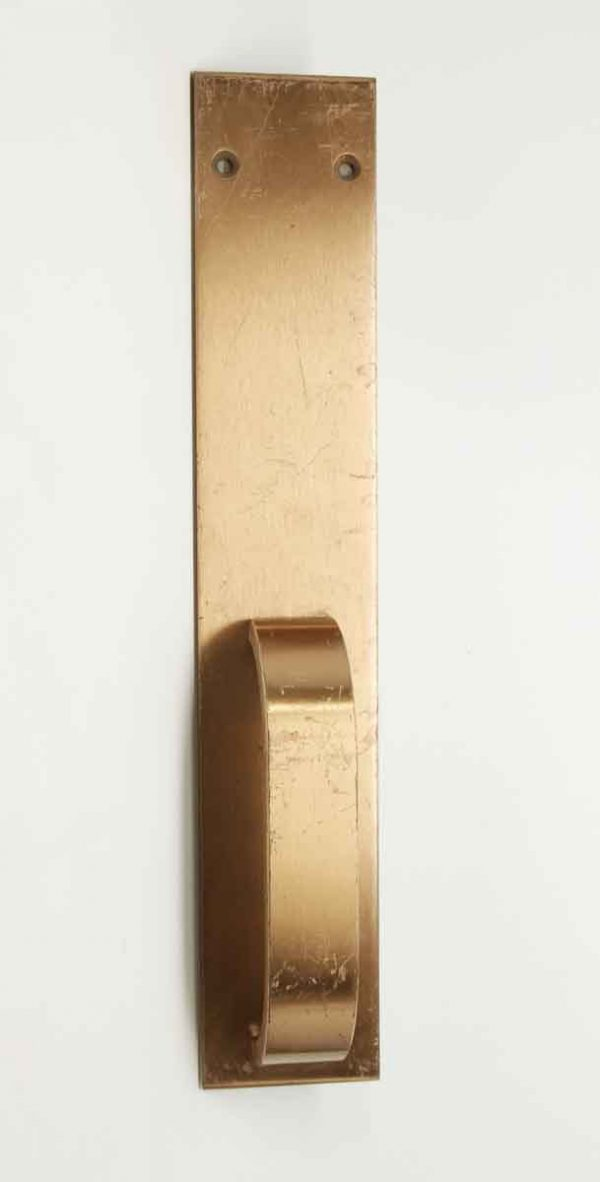 Brass Door Pull with Thick Handle