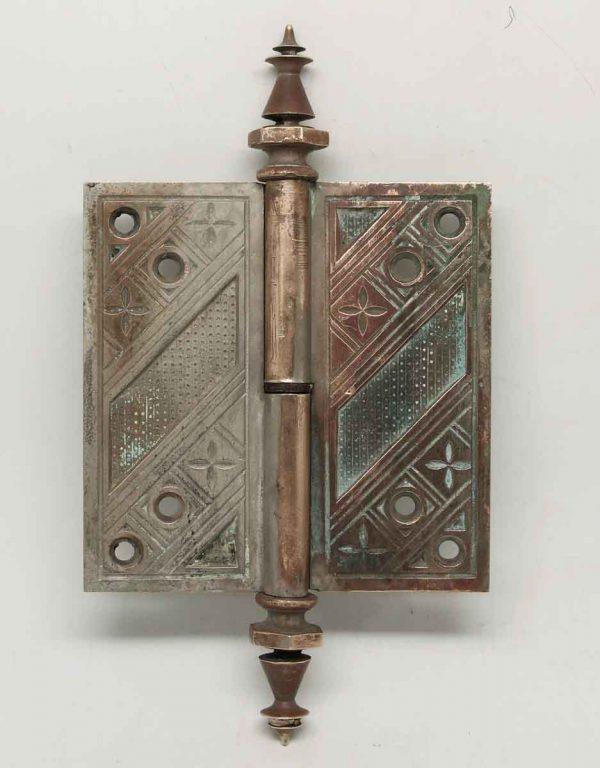 Unique Ornate Bronze Hinge