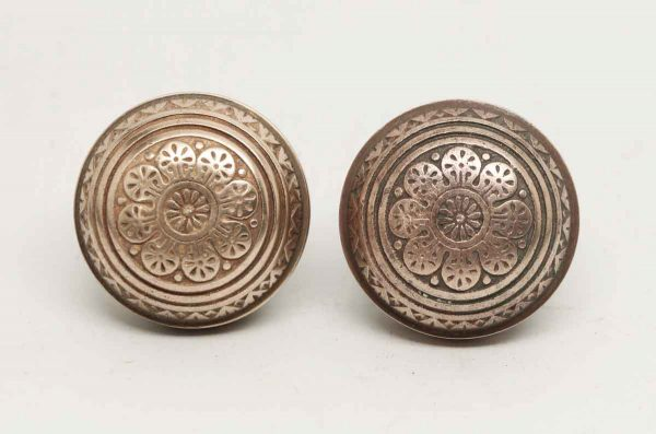 Vernacular Eight Fold Bronze Knobs