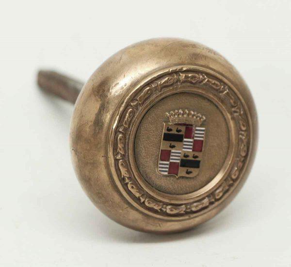 Brass Knob with Cadillac Emblem