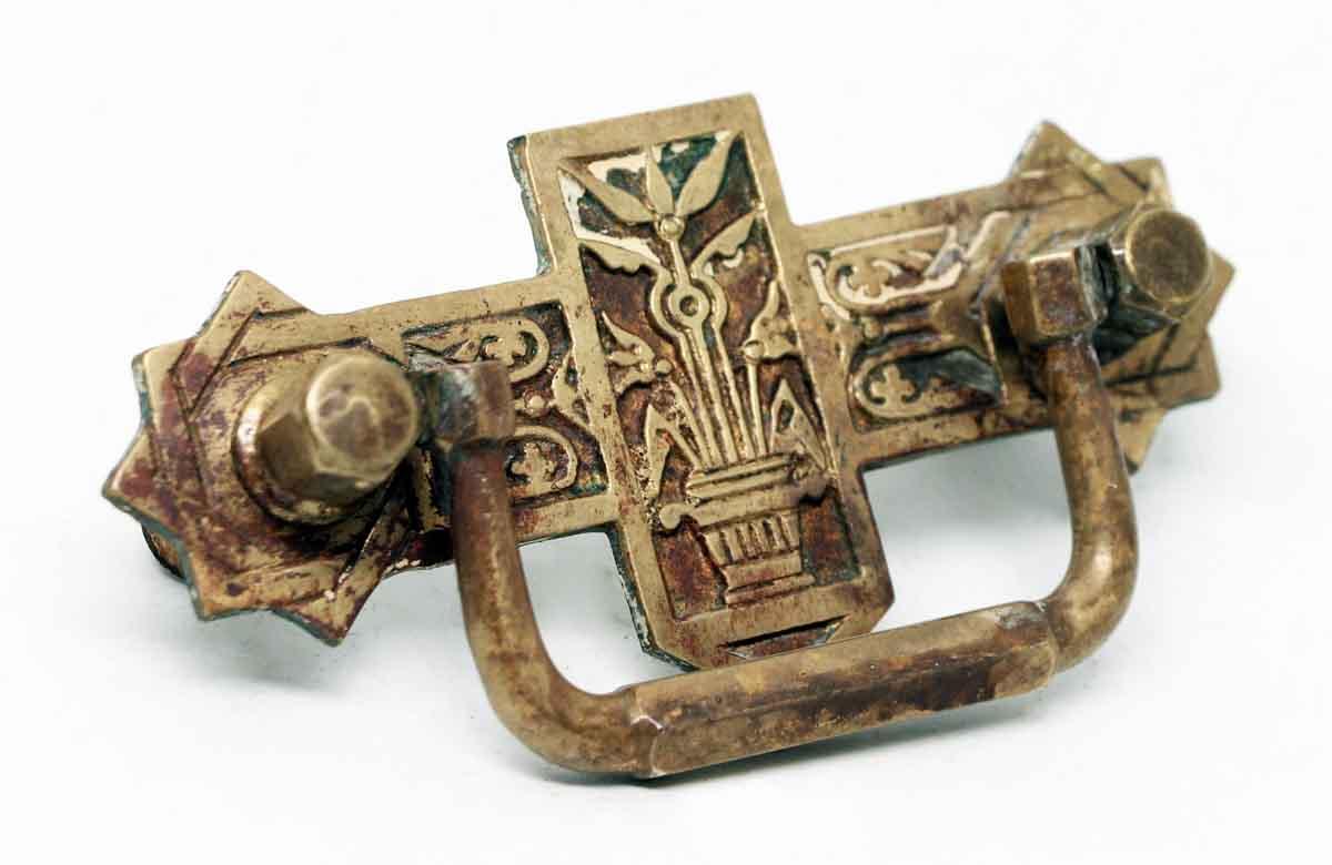 Pair Of Eastlake Brass Pulls Olde Good Things
