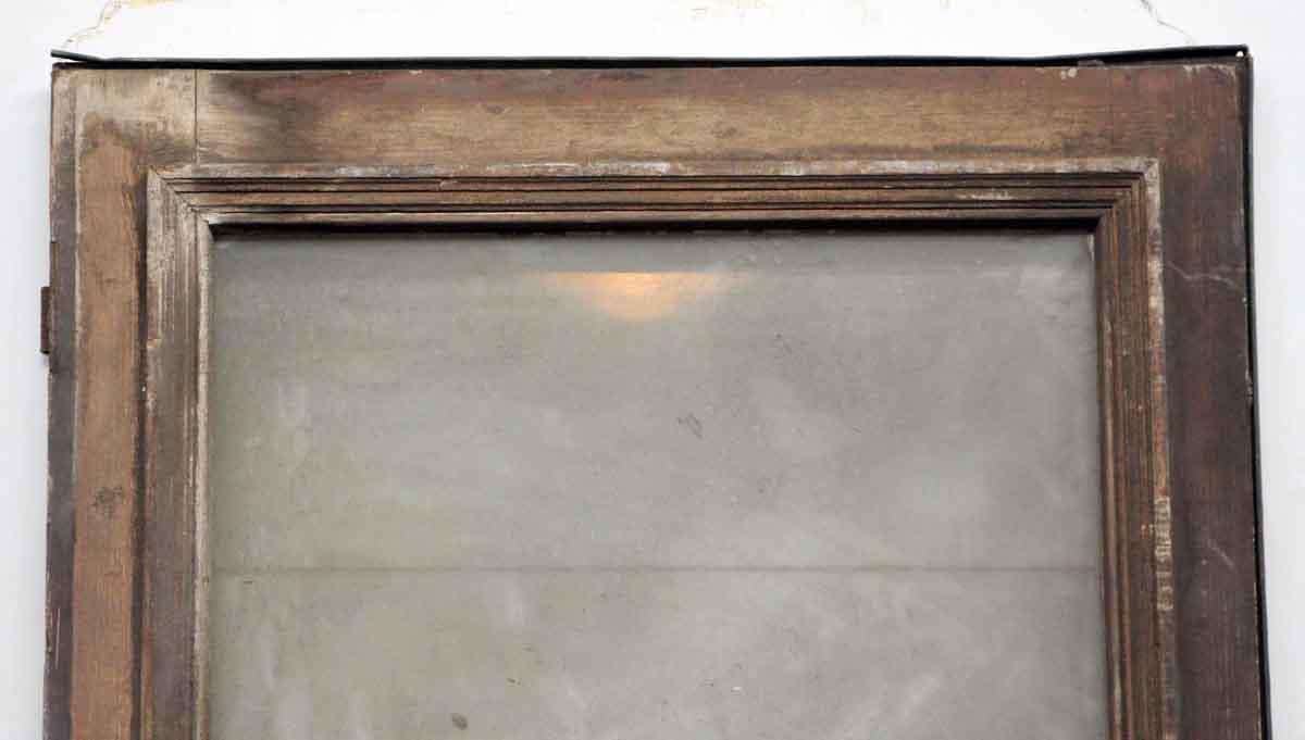 Single wood door with glass panel olde good things