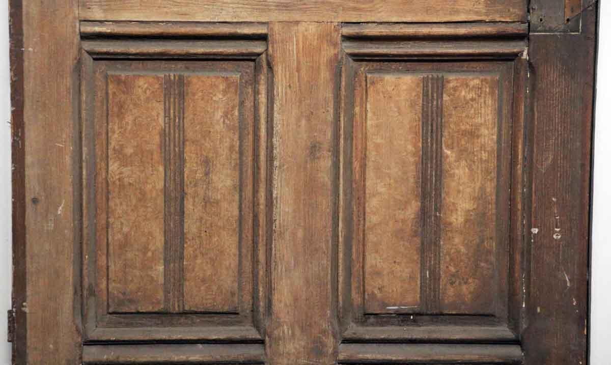 Single Wood Panel ~ Single wood door with glass panel olde good things