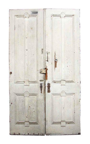 Pair of Tall Wooden Doors