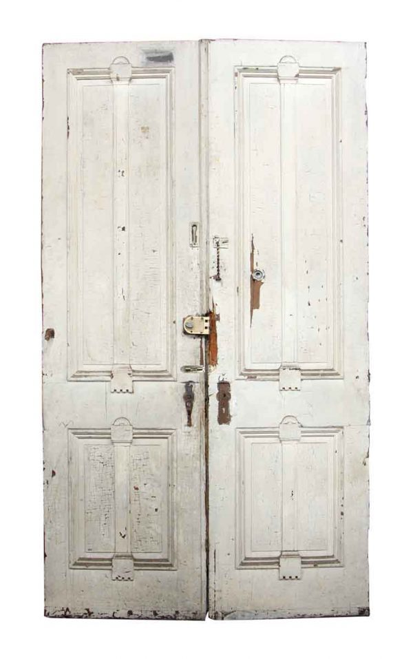 Pair of Tall Wooden Doors