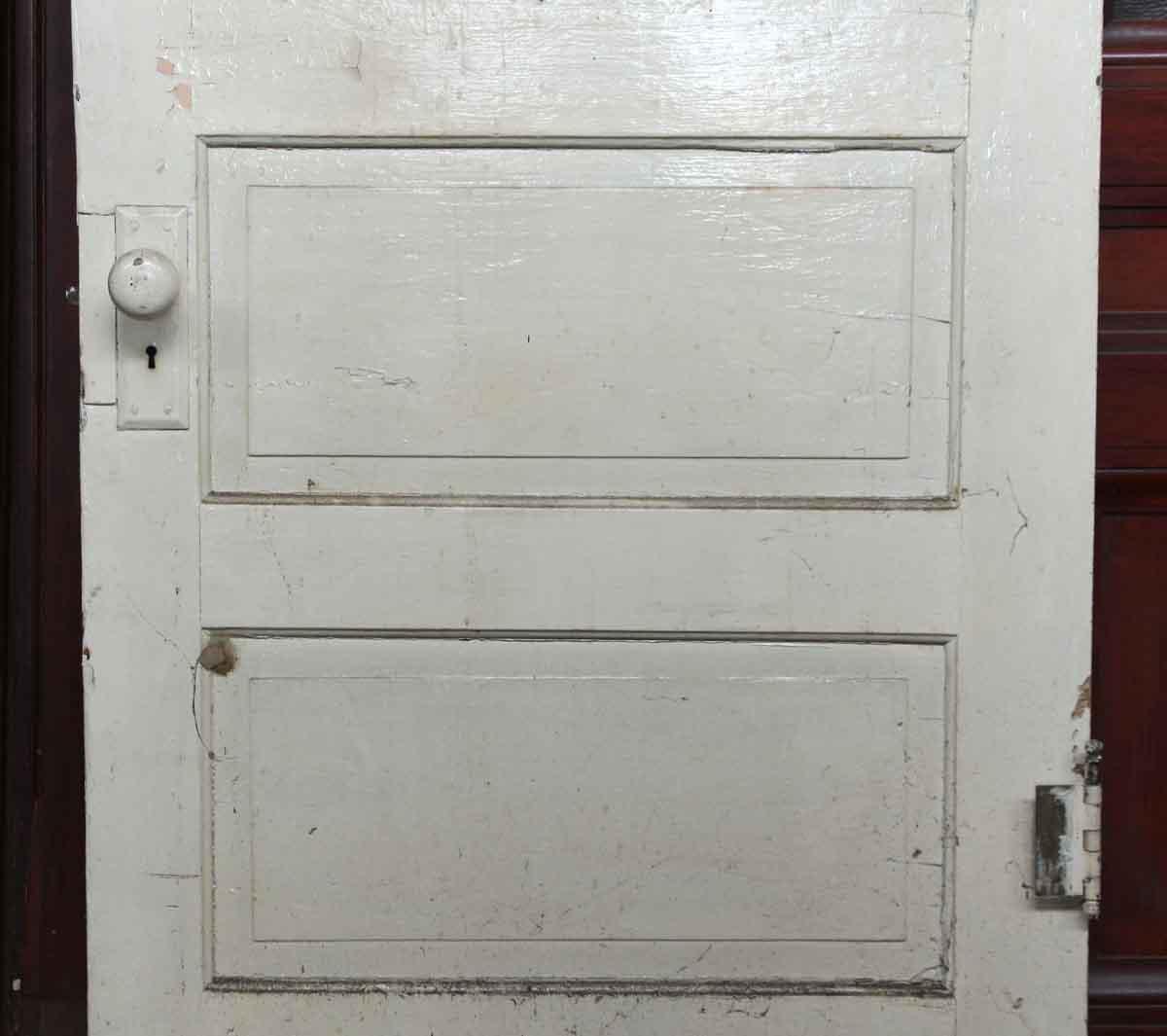 Single Wood Panel ~ Single wooden door with glass panel olde good things
