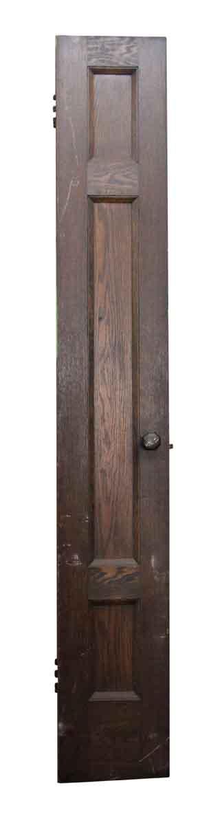 Extra Tall and Narrow Wood Door
