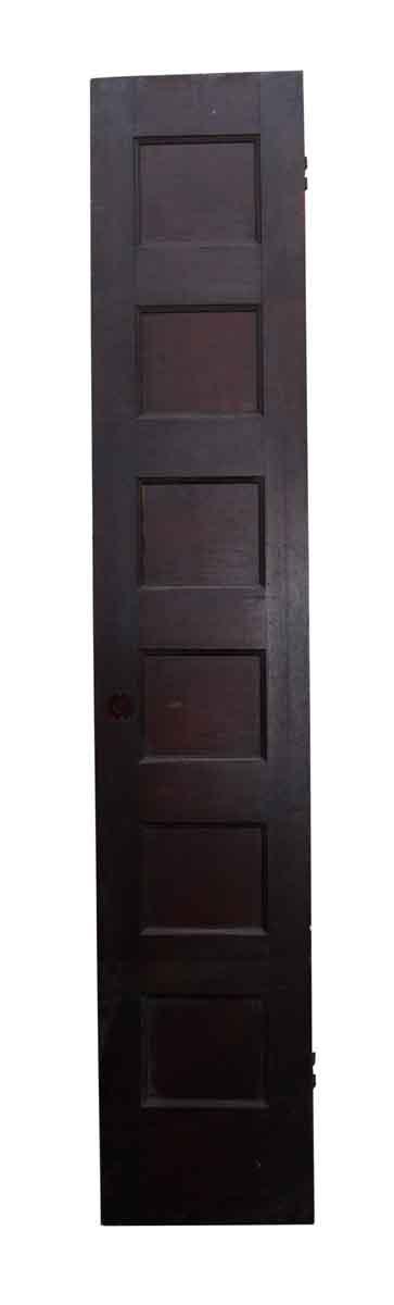 Narrow Single Six Panel Door
