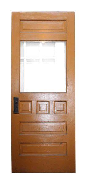 Single Door with Seven Panels