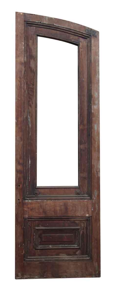 Single Slanted Arch Door