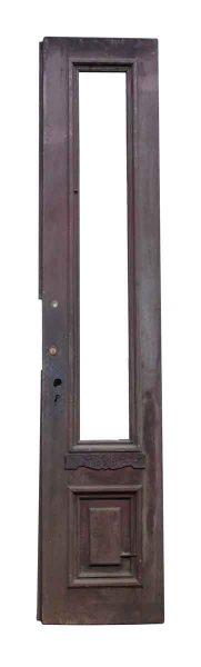 Single Narrow Door with Decorative Carving