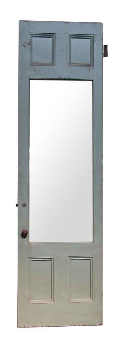 Five Panel Wooden Door with Original Hardware