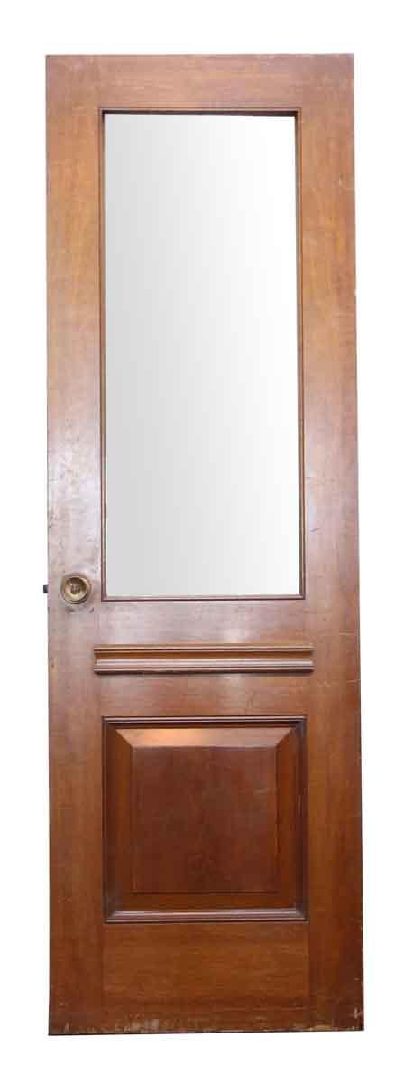 Single Door with One Glass Panel