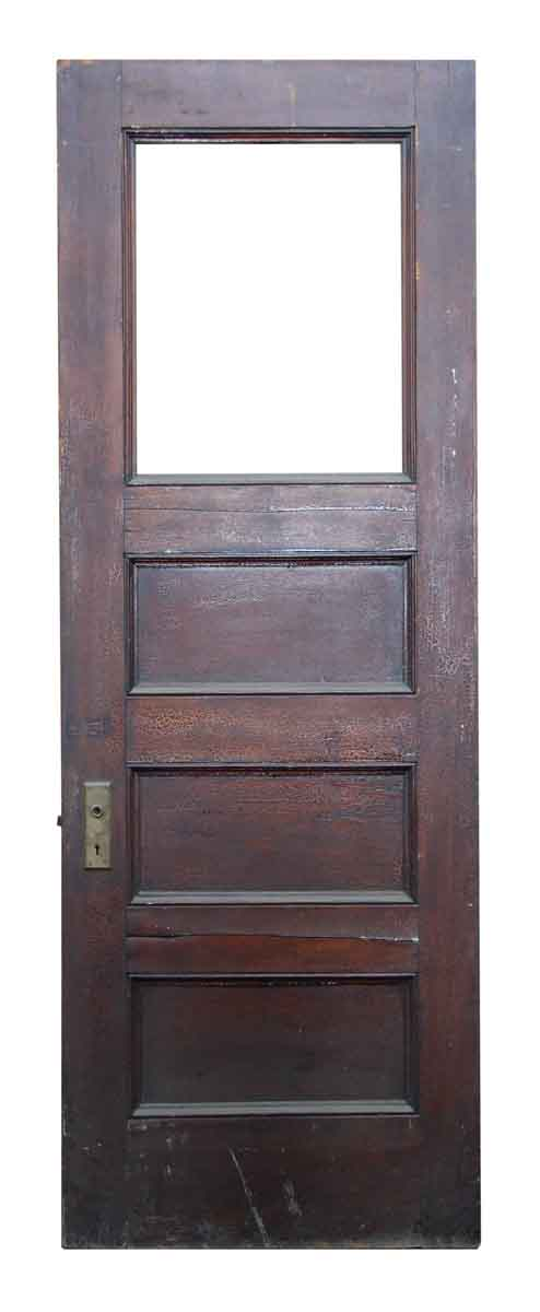 Single Door Four Panel Door