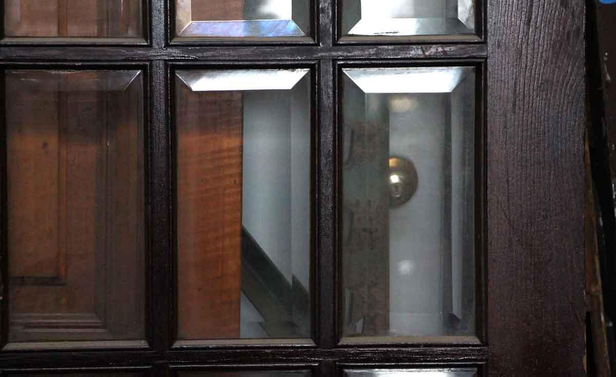 Pair Of 15 Beveled Glass Doors Olde Good Things