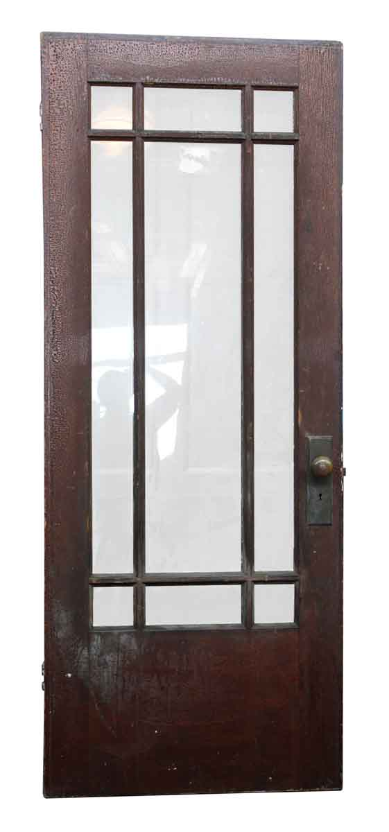 Arts Crafts Door With Glass Panels Olde Good Things