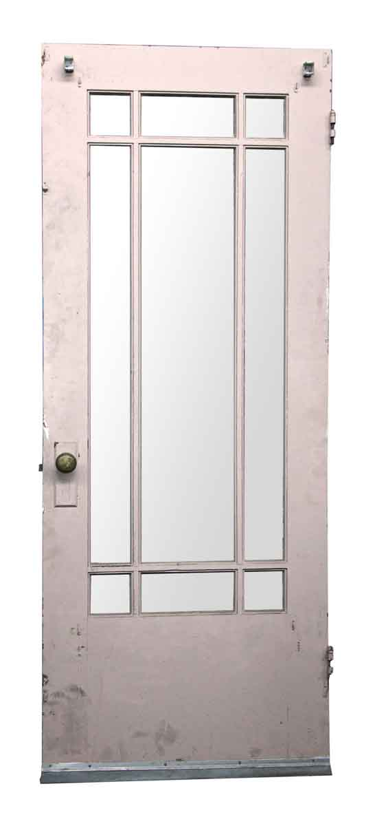 Arts & Crafts Door with Glass Panels