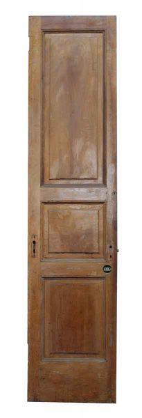 Three Panel Narrow Wooden Door