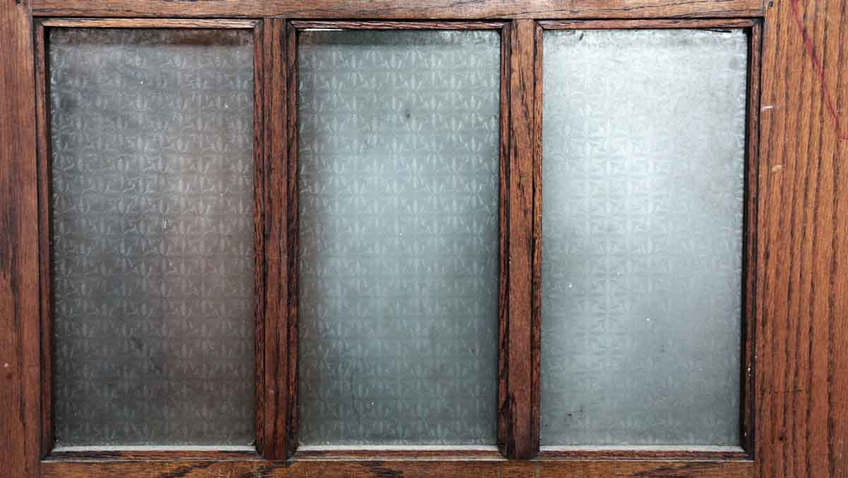 Pair Of Doors With 15 Vertical Glass Panels Olde Good Things