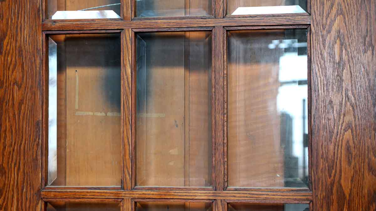 Door With 15 Beveled Glass Panels Olde Good Things