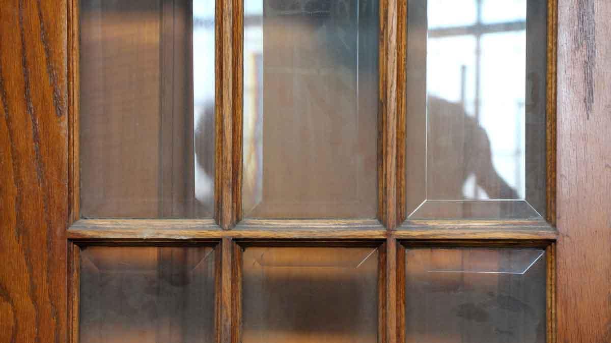 15 Beveled Glass Panel Door  Olde Good Things