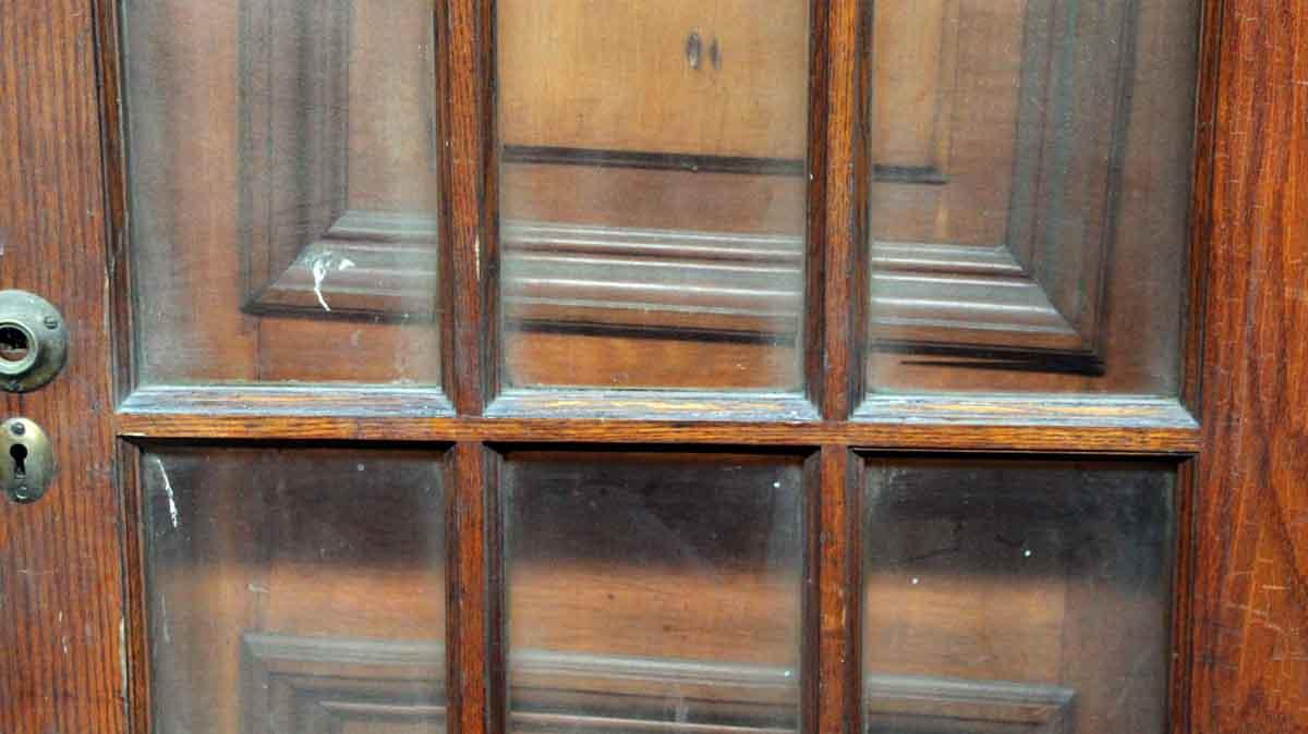 15 Beveled Glass Panel Wood Door Olde Good Things