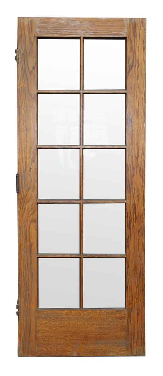 10 panel glass interior door rustic 10 lite p b interior