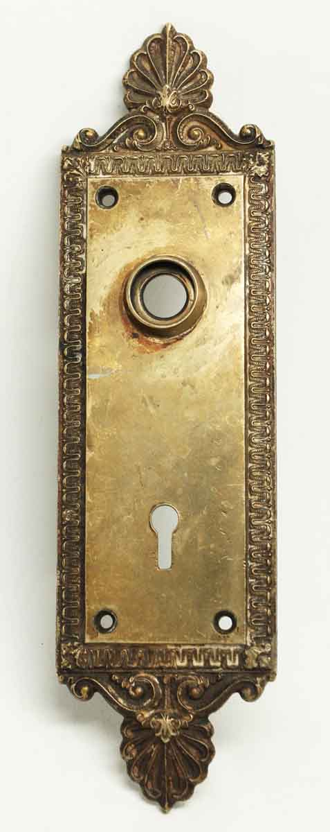 Ornate Neo Classical Bronze Back Plate