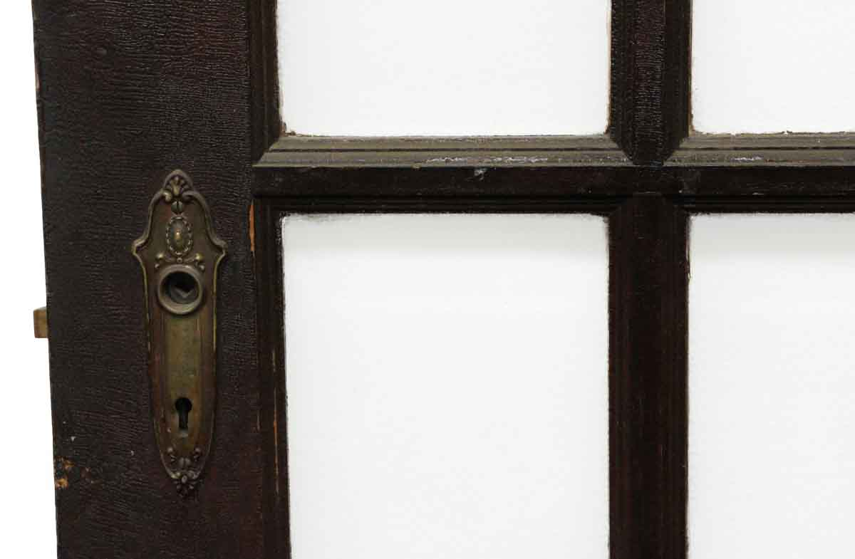 Beveled glass 15 panel french doors olde good things for 15 panel glass french door