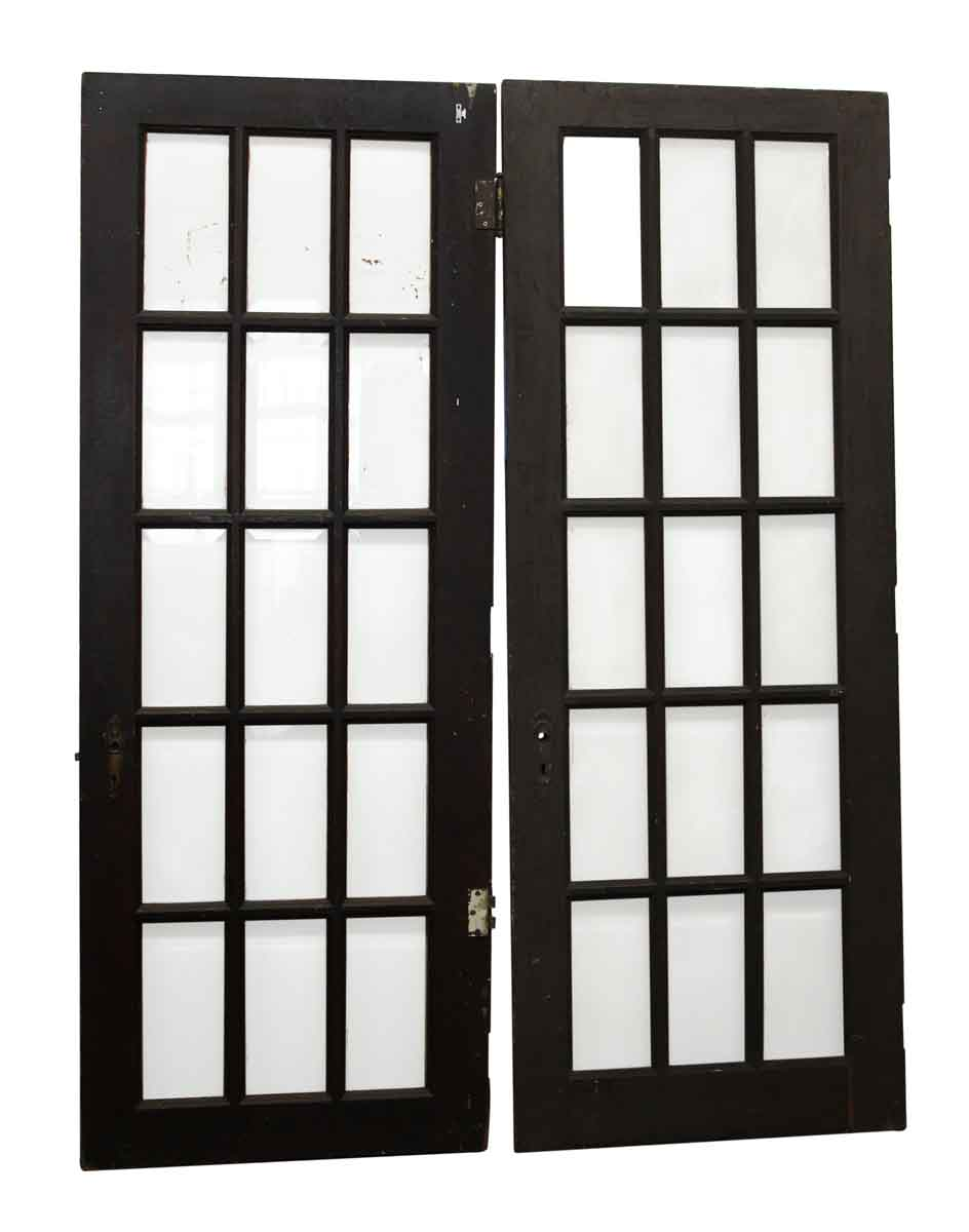 Beveled Glass 15 Panel French Doors Olde Good Things