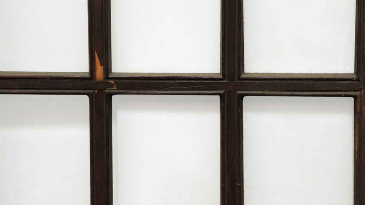 Wooden door with 15 beveled glass panels olde good things for 15 panel beveled glass door