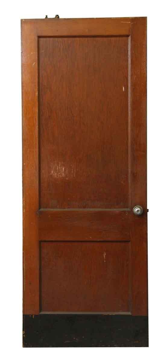 Two Panel Door with Kick Plate