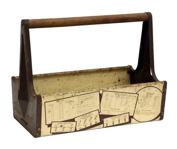 Vintage Craftsman Metal Carryall