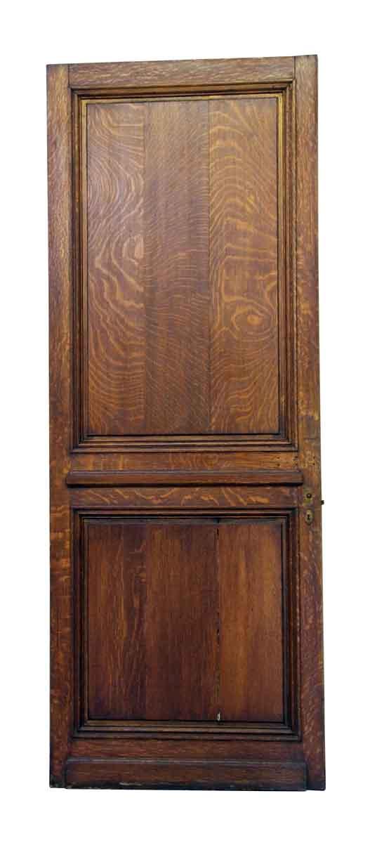 Single Wood Panel ~ Single double panel wood door olde good things
