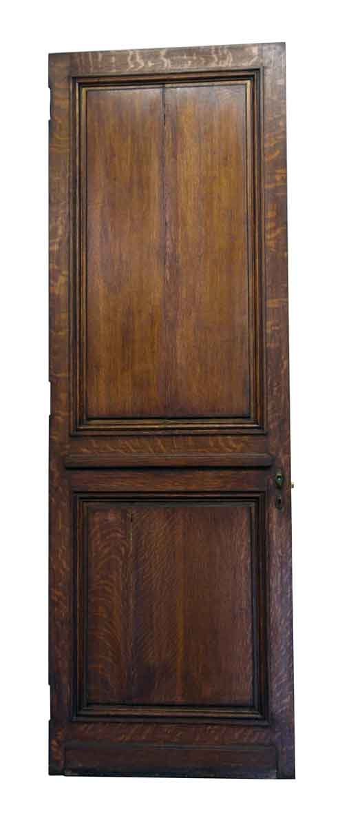 Double Panel Wood Door