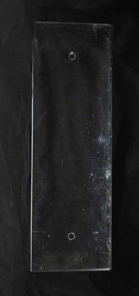 Single Wide Glass Push Plate