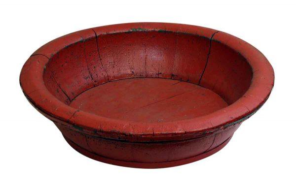 Round Vintage Planter