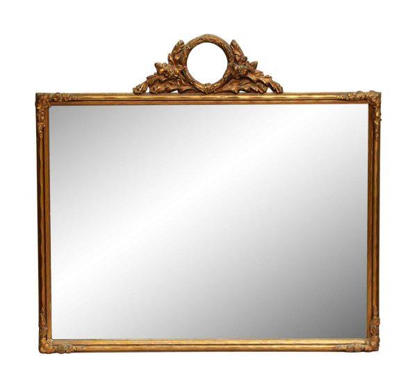 Ornate Gilded Decorative Mirror
