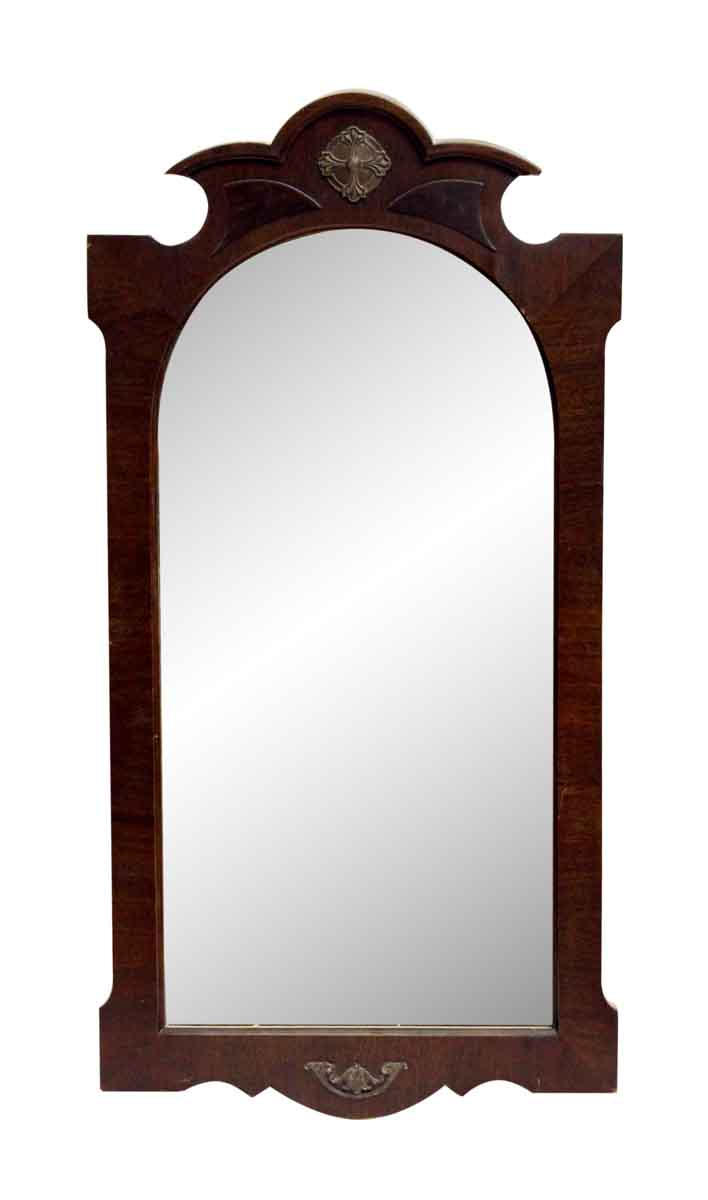 Carved Gothic Wood Frame Mirror Olde Good Things