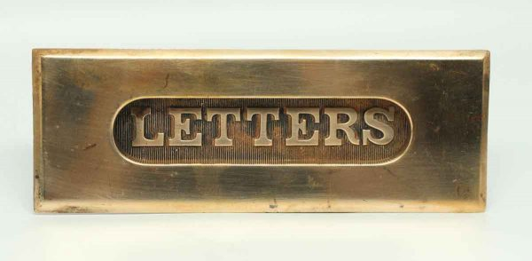 Solid Brass Letters Slot