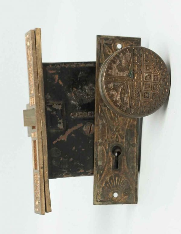 Bronze Vernacular Door Knob Set
