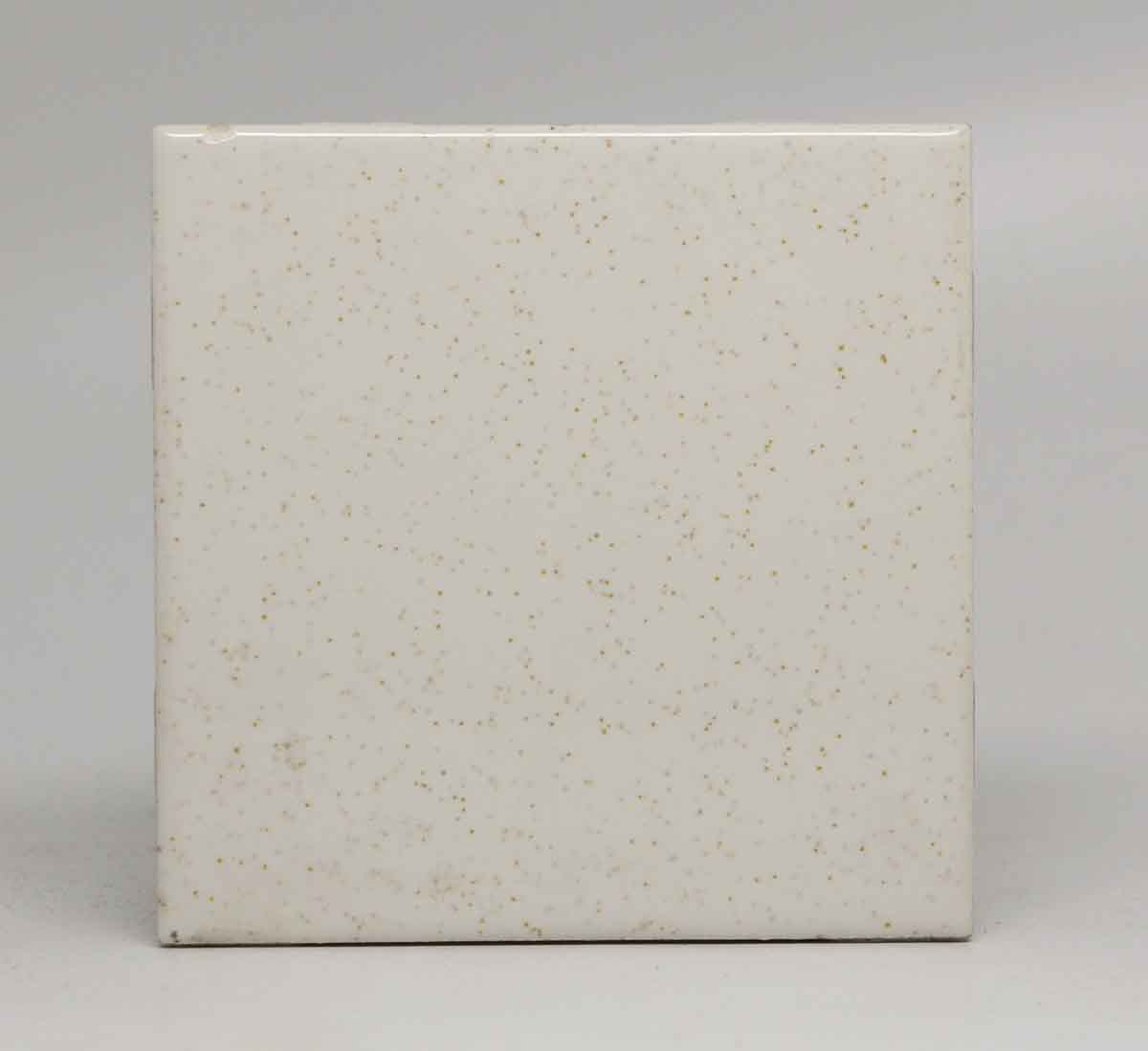 Pair Of White Speckled Square Tiles Olde Good Things