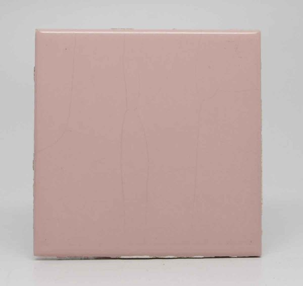 Set of 10 Pink Square Tiles